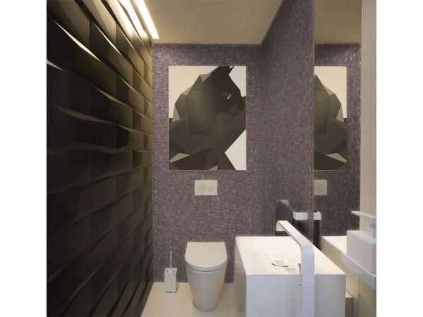 Жидкие обои в туалете: плюсы и минусы, секреты и советы