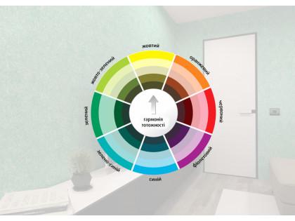 Рідкі шпалери: модна колірна гамма і секрети поєднання кольорів