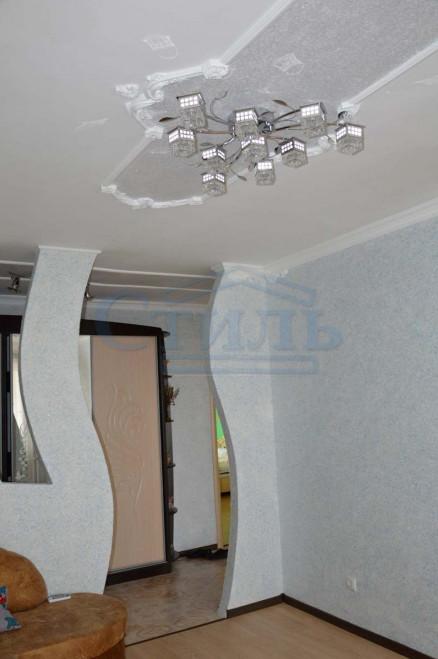 оформление стен жидкими обоями фото