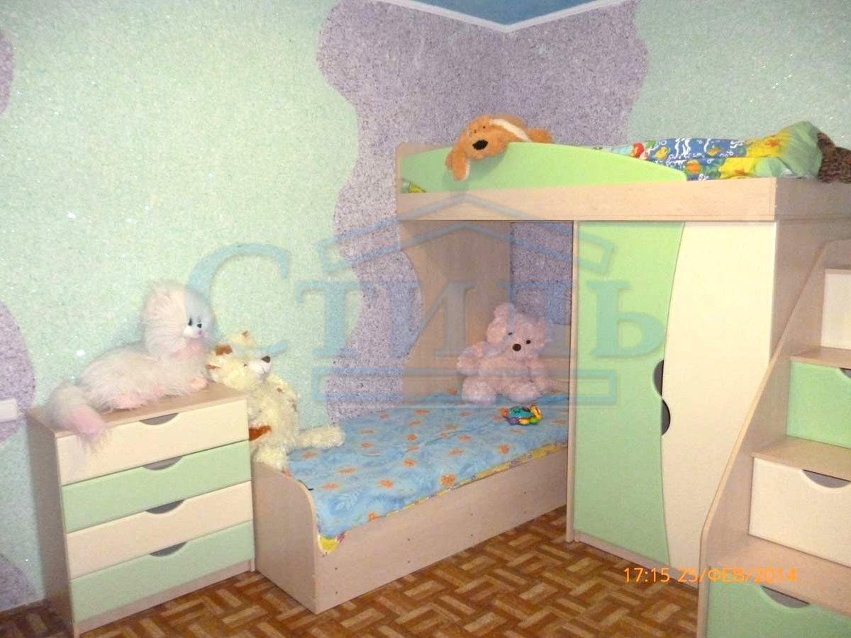 жидкие обои в детской комнате
