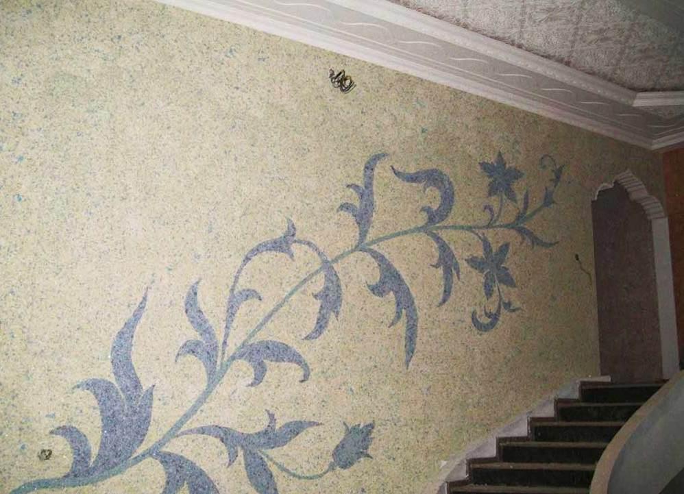 Рисунки на стенах жидкими обоями Черкассы